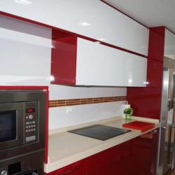 Luxe blanco-rojo